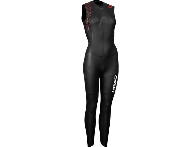 Head OW myBoost Shell LJ 3.2 Wetsuit Women black/red